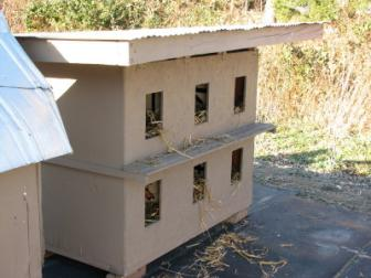 First kitty condo. ~  Our first condo that we builti}