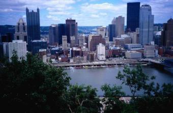 Downtown Pittsburgh ~ Downtown Pittsburgh, taken from Mt. Washington.