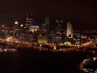 Pittsburgh Night Lights ~ More Pittsburgh at night.