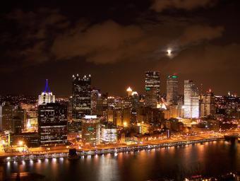 Pittsburgh at Night ~ Pittsburgh at night.
