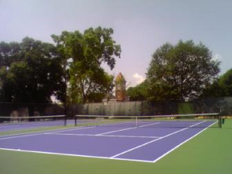 Courts 9 & 10 at Tattnall ~ Oh yeah!  Pretty
