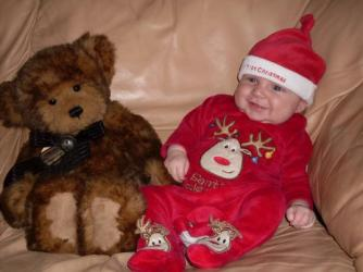 Henry's first christmas ~  No description included.