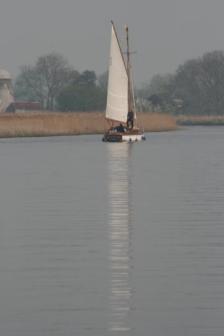 Reflections ~  Taken on the Norfolk broads.