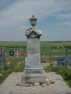 Grave marker at Wounded Knee ~  By:  [Link To User summerlyn]
