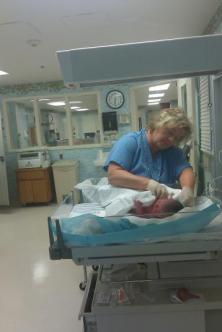 Aedan  ~ My new grandson.