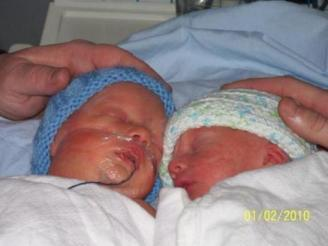 Samuel & Lucas ~ My twin grand nephews. Samuel is now in Heaven.