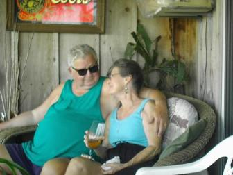 Loy & Bill  ~ My beach friends Loy and Bill