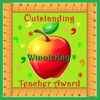Teacher Award ~  A Gift from  [Link To User sisrandez]
