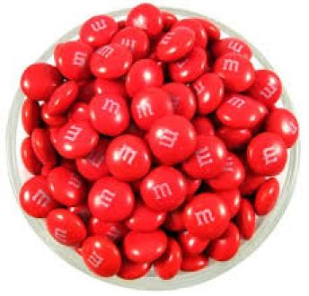 Georgie's Red M&Ms ~