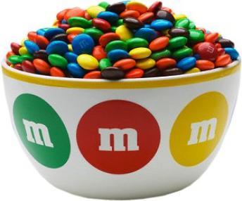 Georgie's Bowl of M&Ms ~  No description included.