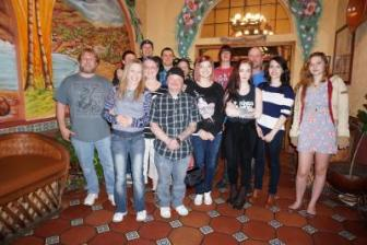 My kids and grandkids. ~