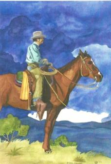 Before The Storm Western Series 2 ~ There are still some cowboys. I of course loved them as a kid.