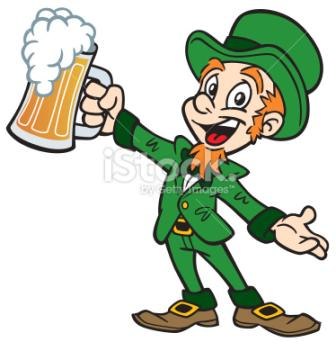 Leprechaun with Beer ~ Leprechaun with Beer
