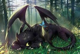 """Toothless ~  From the movie """"How to Train Your Dragon"""""""