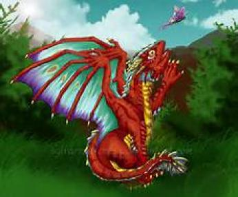 Adult Butterfly Dragon ~  No description included.