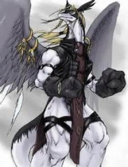 White Warrior Dragon ~  No description included.