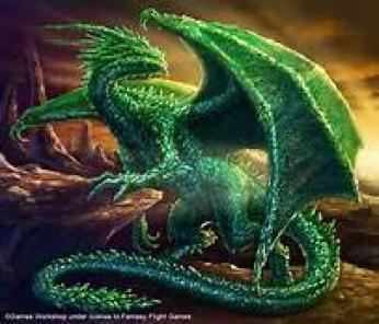 Western Green Dragon ~ Dragons have a rich heritage in the mythology and symbolism of Western culture.   Western dragons have traditionally been a symbol of evil. A typical Western dragon can fly and breathe fire. Many legends describe dragons as greedy, keeping hordes of gold and other precious treasure. In myths and folklore, dragons were monsters to be conquered. As dragons may be seen to represent the dark side of humanity, including greed, lust, and violence, the conquest of a dragon represents the confrontation and extinguishment of those evil instincts. And yet there are many stories of dragons doing good deeds or even being outsmarted by humans  Th...