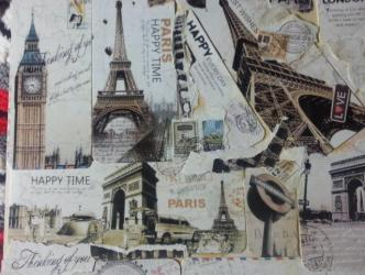 ~ I made this as a collage for a friend who loves Paris.  I hope she likes it.