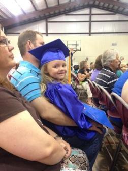 Pre-K Grad ~  Nanny's big girl graduates Preschool! *Heart*