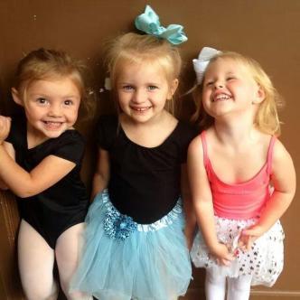 Besties!! ~  Destiny (on left), and her dance friends, Ashton & Bradyn *Smile*