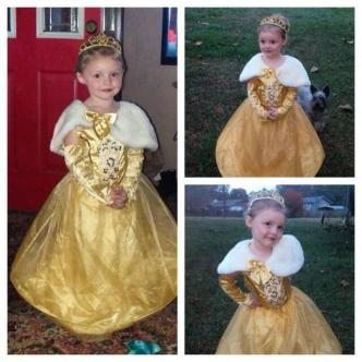 Belle of the Ball! ~  Last Halloween, as Disney Princess, Belle! :)