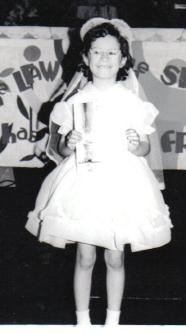 My Sister, Kathy - 1968 ~ Kathy's First Communion