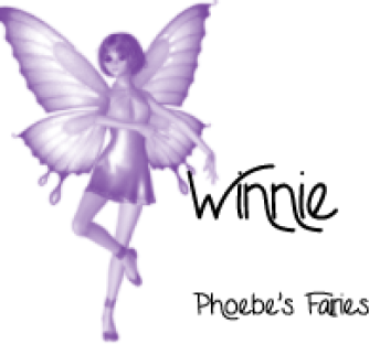 Phoebe's Fairy ~ Phoebe's Fairy from Pat - Oct.
