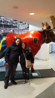 Moe and I with the Moose, Take 2 ~