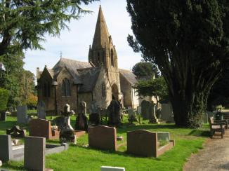 Cemetery ~ Image for Poem - The Monsignor's Grave