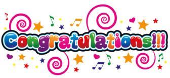4 ~ Congratulations