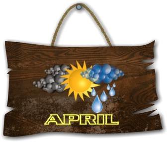 April banner ~  No description included.
