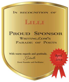 Parade of Poets - Sponsor Award ~ from  [Link To User gabriellar45]