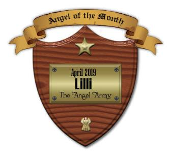 Angel of the Month - April 2019 ~ Thank you  [Link To User satet]  and  [Link To Item #army] !