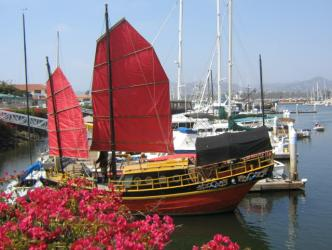 Red Junket ~ Ventura Harbor, Ventura, CA