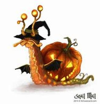halloween snail mail ~  No description included.