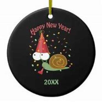 New Year Snail ~  No description included.