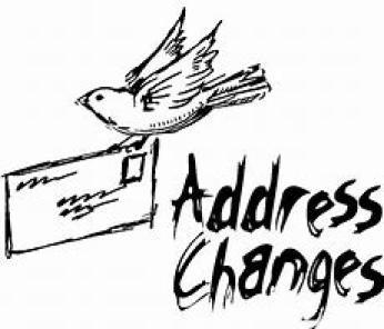 Address Changes ~  No description included.