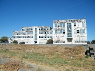 Abandoned Bldg 755, Naval Nuclear Power School, Mare Island ~ I attended Naval Nuclear Power School here from June to December, 1973