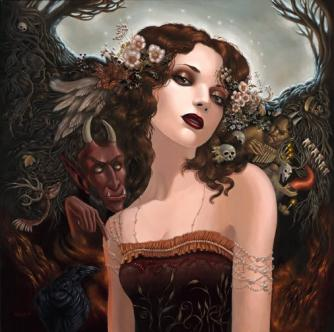 Amla ~ Amla, the sister of Iphene and Nadite and the daughter of Ita, the original Goddess of Vala and Onteus, the original God of Vala, is a Goddess of the Underworld Vala. She resides behind the under water entrance to Vala, protected behind many beasts that swim the river of Passea.