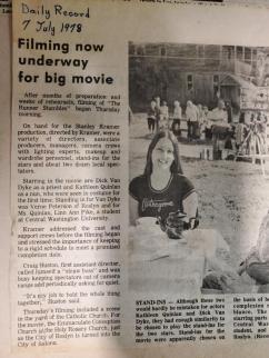 LinnAnn - Movie Set, 1978 ~ Claim to fame.  *Smile*