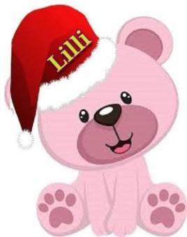 Teddy Bear ~  A gift from my Secret Santa, 2020!