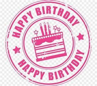 Happy Birthday Circle ~  No description included.