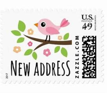 New Address Stamp ~  No description included.