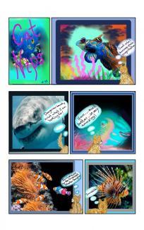 NIPS looks at God's Creations 2 Parts ~ Nips checks out sea life!