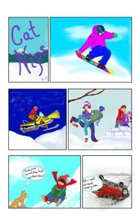 NIPS explores winter fun! ~ Well it's fun for kids!