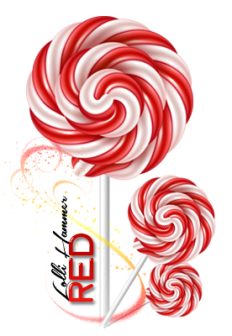 RED Lolli Hammer ~  *Dollar* Cost:  3,000 gift points   *Star* Ability:    Eliminates Black-colored candies. If black is hit, no point is deducted.  Cleanse your Dirty Crush. If Dirty Crush is hit, you will gain 2XP instead of lossing.