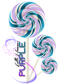 PURPLE Lolli Hammer ~  *Dollar* Cost:  5,000 gift points   *Star* Ability:       x3   :: Triple the corresponding XP of Purple candies if hit.     +5   :: Adds 5 number of candies crushed.