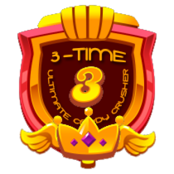 3 TIME ULTIMATE CRUSHER ~     3 TIME ULTIMATE CRUSHER    This will be awarded to players who cleared Level 5 for the THIRD time.   Note: This award will be entitled to MULTIPLE players   *AwarenessRB*PRIZE:  WILL BE POSTED SOON