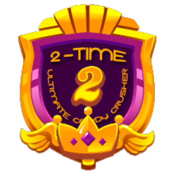 2 TIME ULTIMATE CRUSHER ~     2 TIME ULTIMATE CRUSHER    This will be awarded to players who cleared Level 5 for the SECOND time.   Note: This award will be entitled to MULTIPLE players   *AwarenessRB*PRIZE:  WILL BE POSTED SOON