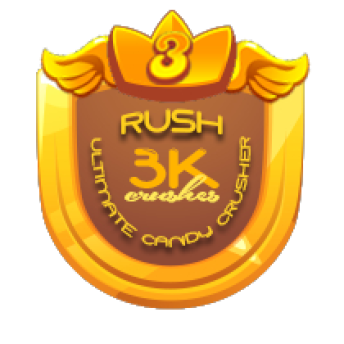 3K CANDY CRUSHES ~     3,000 CANDY CRUSHES    This will be awarded to players who crushed a total of 3,000 candies.   Note: This award will be entitled to MULTIPLE players   *AwarenessRB*PRIZE:  1 Merit Badge of Winners' Choice 5K worth of GC to  [Link To Item #2243684]